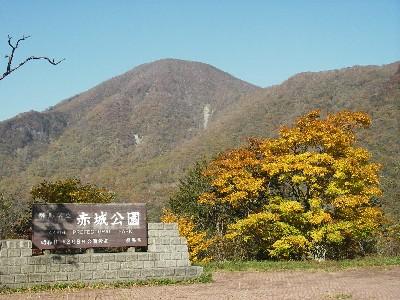 駐車場から黒檜山