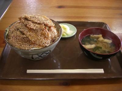 豚バラ丼( ゚д゚)ウマー