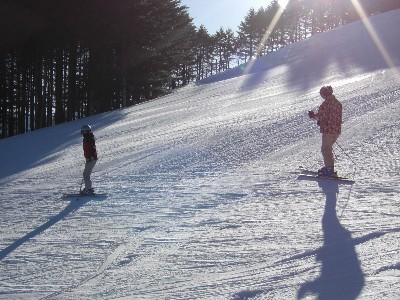 雪は良かった