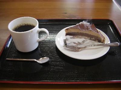 ショコラのケーキセット