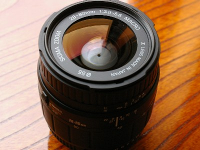 SIGMA 28-80mm 1:3.5-5.6 MACRO