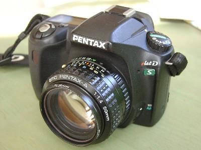 ist DS + smc PENTAX A50mm F1.4