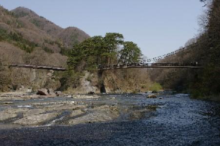 浮島と吊り橋