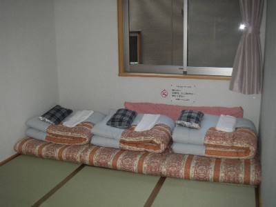 横尾山荘の部屋