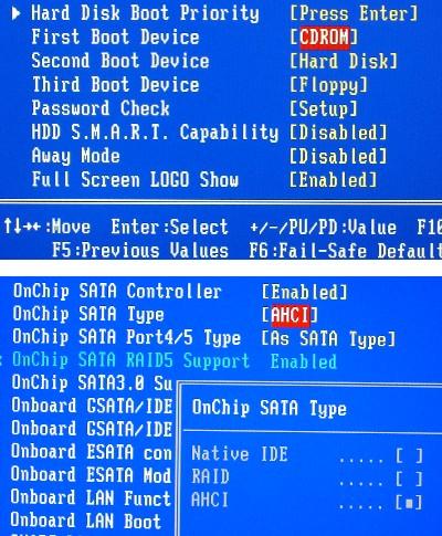 BIOS設定