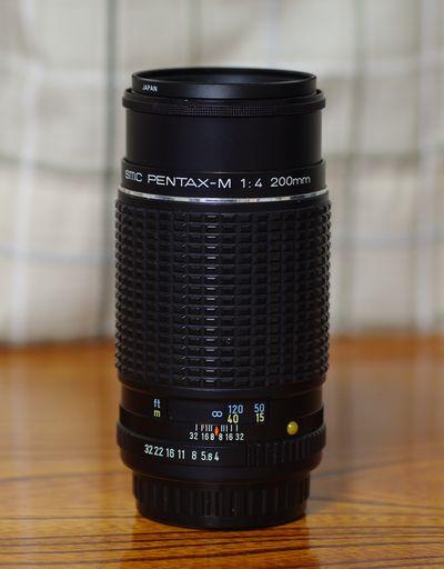 smc PENTAX-M 1:4 200mm
