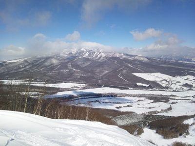 ゲレンデトップから四阿山