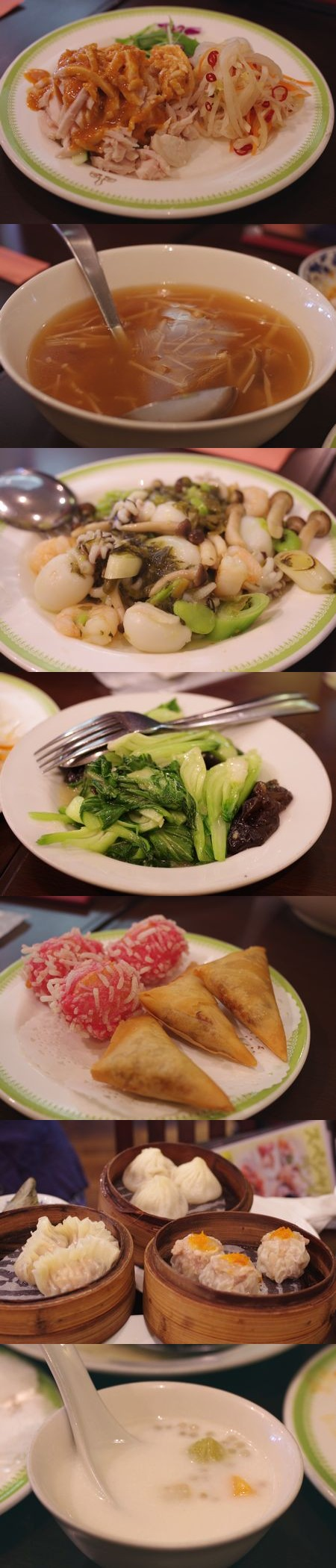 重慶飯店のランチコース
