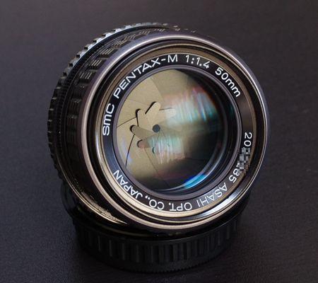 smc PENTAX M50mm 1:1.4