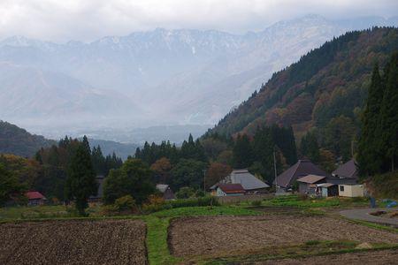五龍岳方面