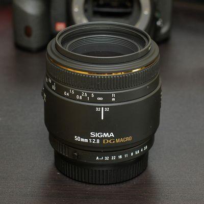 SIGMA MACRO 50mm EX DG