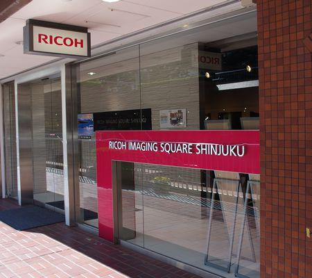 リコーイメージングスクエア新宿