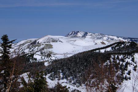 草津白根山と横手山