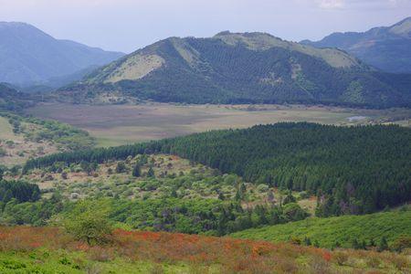 八島ヶ原湿原と鷲ヶ峰
