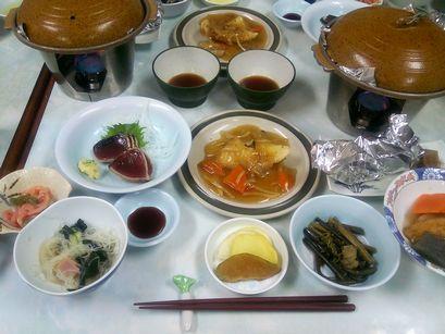 千代田館の食事