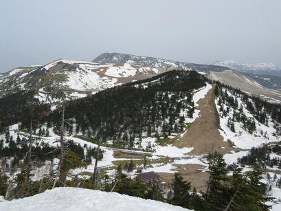 草津白根と横手山