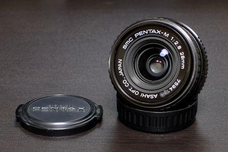 smc PENTAX M28mm 1:2.8