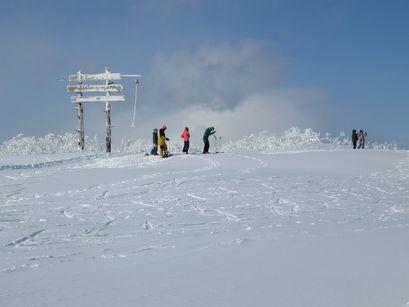 イゾラ山頂