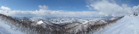 イゾラ山頂よりパノラマ