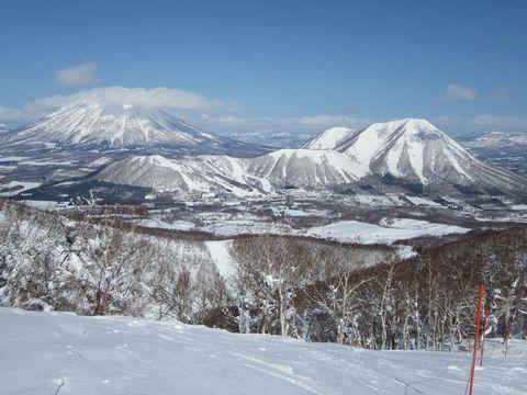羊蹄山と尻別岳