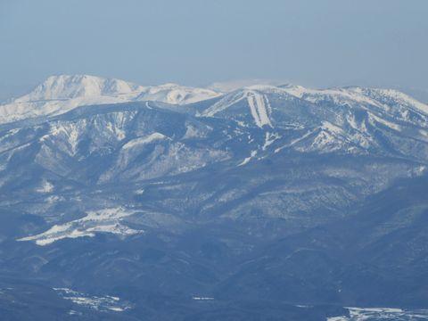 横手山と本白根山