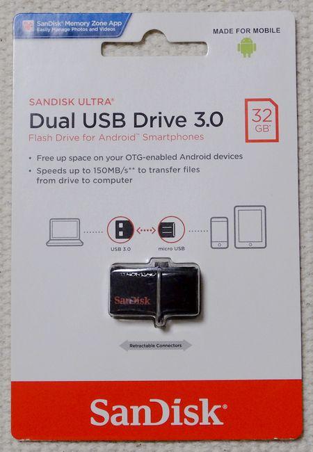 Dual USB Drive3.0