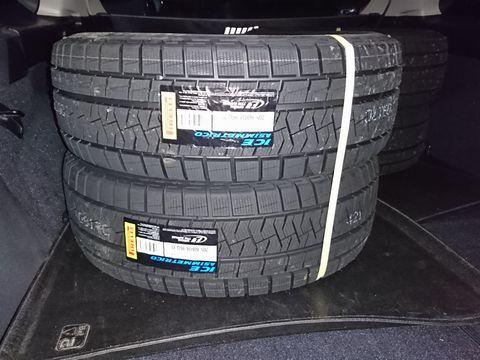 タイヤでいっぱい