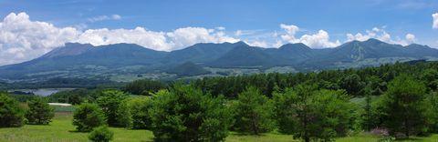 丘からの景色