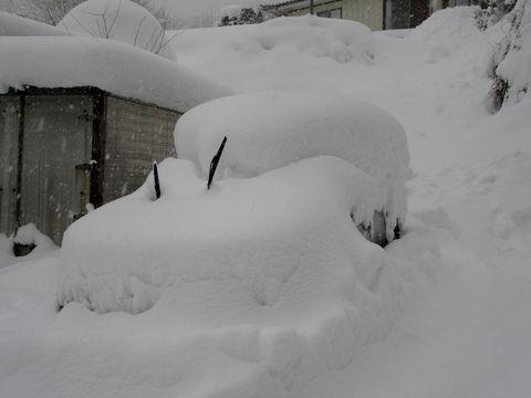 3日間の降雪量