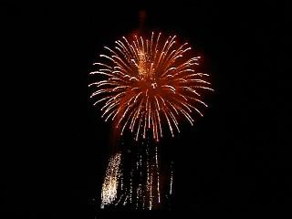 新年の花火