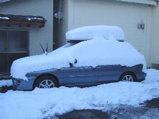 2回目の雪下ろし前