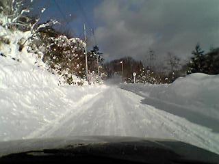 根利は圧雪路