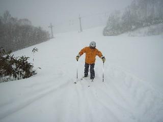 やや山スキー気分