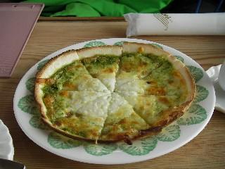 奥志賀高原ホテルのピザ