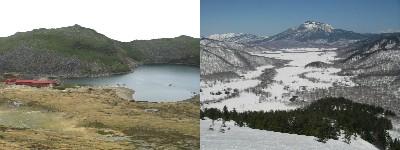 左:はくのり 右:至仏山